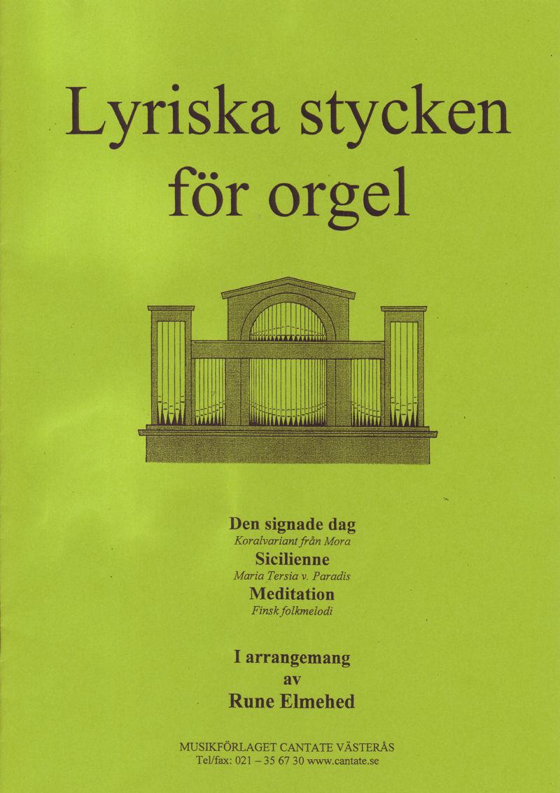 Lyriska stycken för orgel