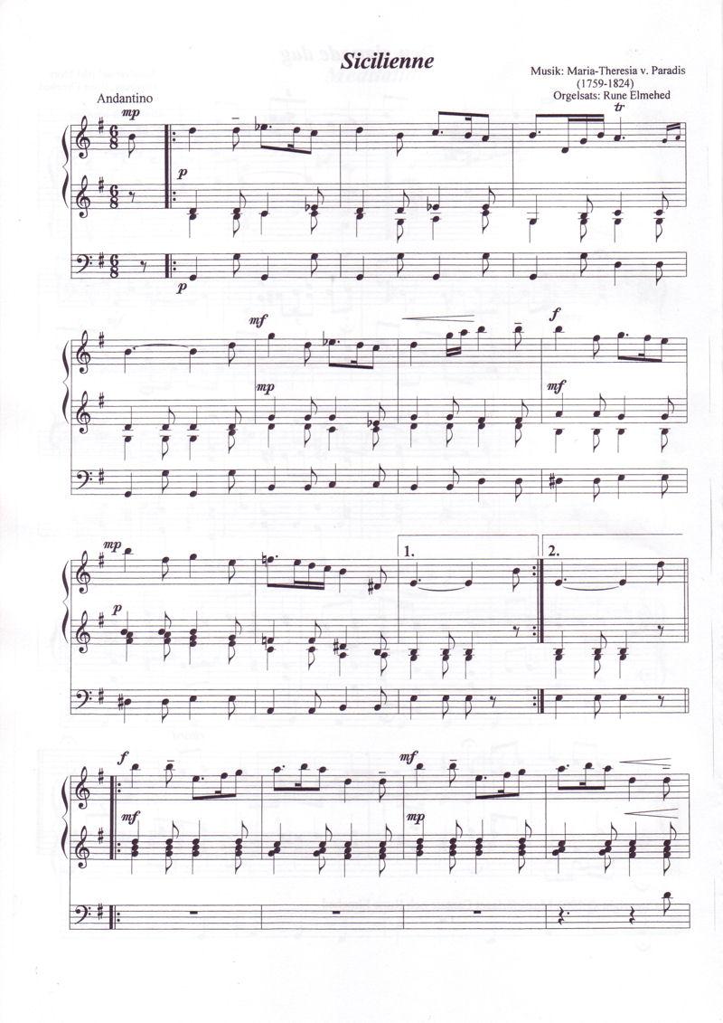 Lyriska stycken för orgel 2